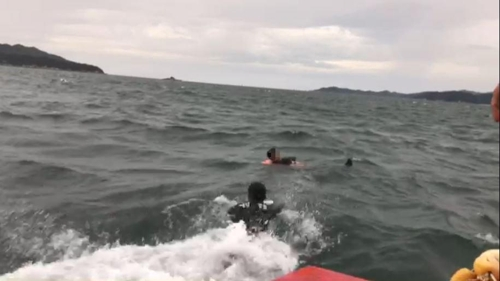 [태풍 비상] 피항 중 어선 표류…해상 추락 선원도 구조