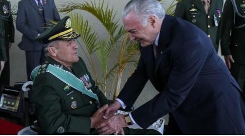 브라질 육군총장 리우 치안실종, 정치권 책임…군부 불만 표시