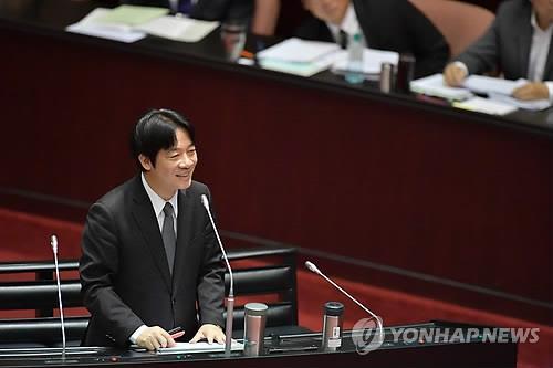 라이칭더 대만 행정원장[연합뉴스 자료사진]