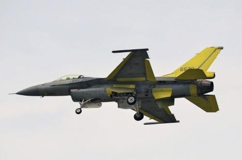 F-16V 시험비행[대만 연합보 캡처]