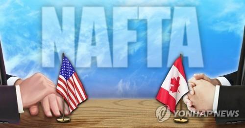 미-캐나다 나프타 개정 합의 불발…내주 협상 계속(종합)