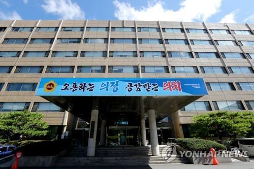 충북도의회 전경 [연합뉴스 자료사진]