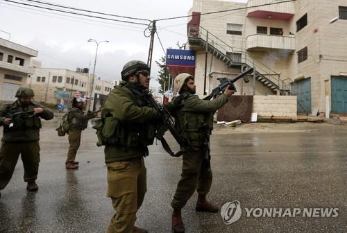 이스라엘 군인들[EPA=연합뉴스 자료사진]