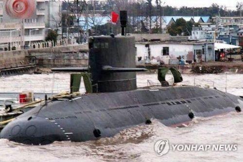 중국의 위안급 잠수함 [위키피디아 제공]