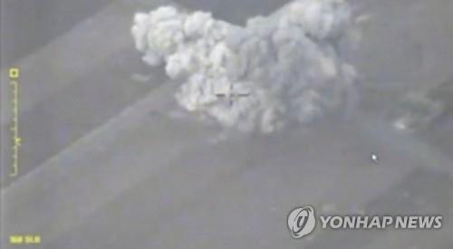 5일 러시아군의 이들립 폭격[로이터=연합뉴스 자료사진]