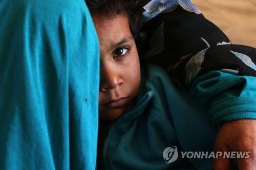 시리아 이들립 지역의 피란민[AFP=연합뉴스자료사진]
