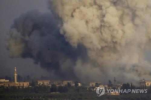 시리아 정부군과 반군의 전투[AP=연합뉴스 자료사진]