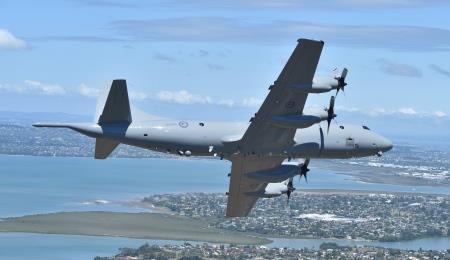 뉴질랜드 공군 P-3K2 오리언 해상초계기[출처: 뉴질랜드 공군]