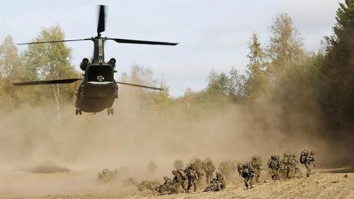 나토군 연합훈련 모습 [나토 홈페이지 캡처]