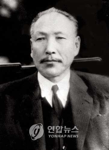 조소앙 선생[연합뉴스 자료사진]