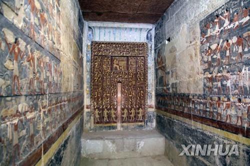 이집트, 사카라 유적지서 4천300년전 무덤 공개[신화통신=연합뉴스]