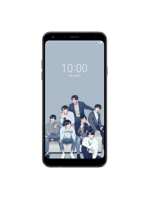 LG Q7 BTS 에디션, [LG전자 제공]
