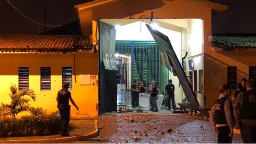 범죄조직의 습격을 받은 브라질 북동부 교도소 [브라질 뉴스포털 G1]