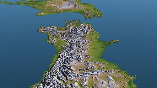 뉴질랜드 남섬서 조만간 강진 발생 가능성…지형 변형 우려