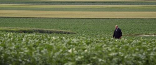 세 농부와 아들 한 장면