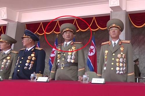 북한군 박수일 상장