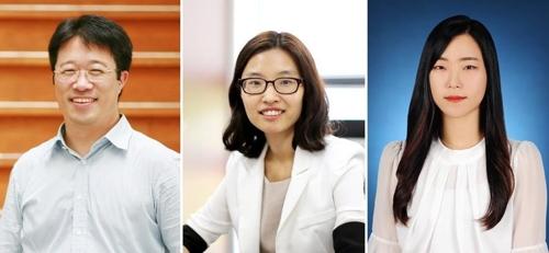 KAIST 이해신 교수(왼쪽)·DGIST 홍선기 교수(가운데)·KAIST 왕윤선 박사