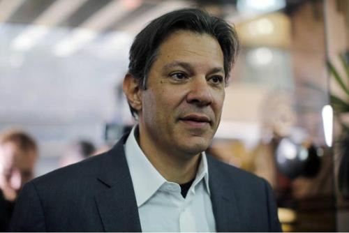 노동자당의 페르난두 아다지 대통령 후보
