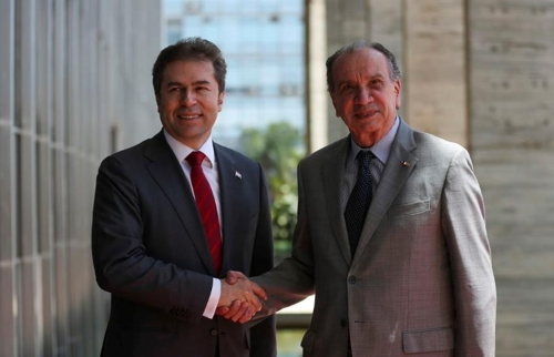 브라질-파라과이 외교장관