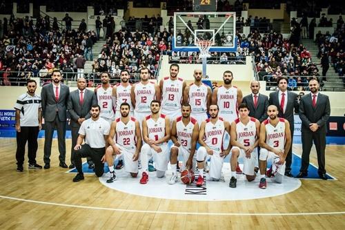 요르단 농구 대표팀. [FIBA 인터넷 홈페이지 사진 캡처]
