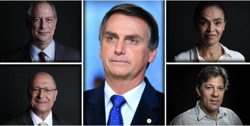 브라질 대선 5파전 양상 굳어져…극우후보 지지율 선두 질주