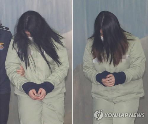 '인천 초등생 살해 사건' 범인인 박모씨(오른쪽)와 김모씨 [연합뉴스 자료사진]