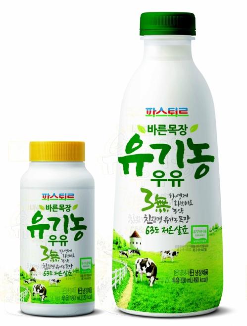 파스퇴르 바른목장 유기농 우유