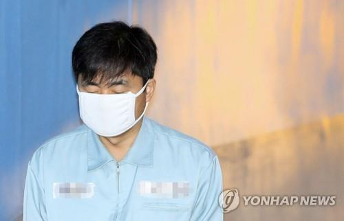 법정 향하는 진경준 전 검사장 [연합뉴스 자료사진]