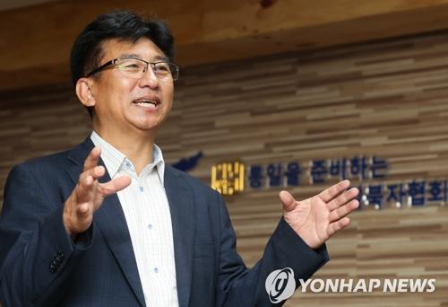 """전주명 탈북자협회장 """"탈북민도 사회·정치참여 나서야"""""""
