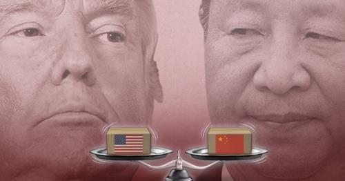 도널드 트럼프 미국 대통령과 시진핑 중국 국가주석(PG)