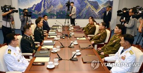 남북군사실무회담 대표단 출발…포괄적 군사분야합의서 논의(종합)