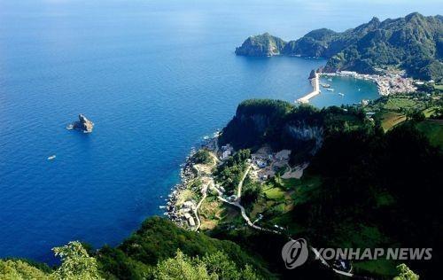 울릉도 저동항 전경[연합뉴스 자료사진]