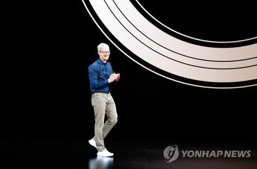 애플, 아이폰XS·XS맥스 공개…헬스케어로 진화한 애플워치(2보)