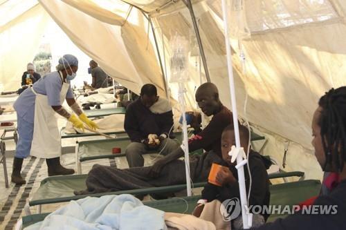 짐바브웨 콜레라 사망자 24명으로 늘어…수도 하라레 비상