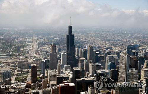 미국 시카고 최고층 윌리스 타워