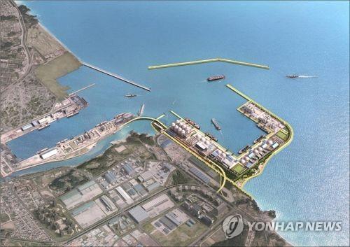 동해항에 컨테이너 처리 가능한 잡화부두 건설 추진