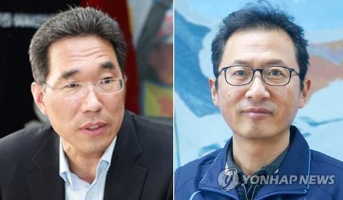 제3차 남북정상회담 특별수행하는 양대노총 위원장