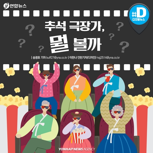 [카드뉴스] 추석 극장가 한국영화 경쟁 치열…제2의 광해 나올까