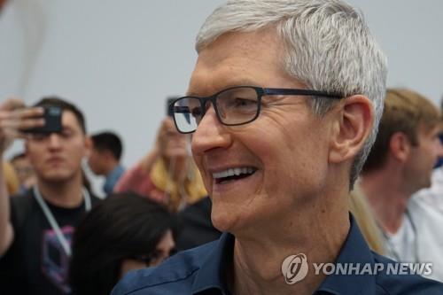 쿡 애플 CEO 미중 무역전쟁 잘 해결될 것…제로섬 게임 아냐