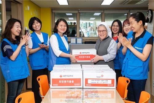 삼성, 추석 앞두고 복지시설에 10억원 규모 부식품 선물