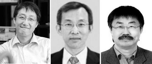김필립·정상욱·이영희 교수(왼쪽부터)