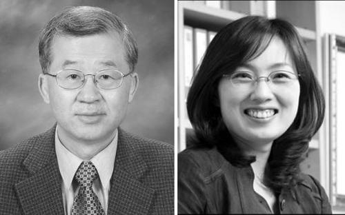 이서구·김빛내리 교수(왼쪽부터)
