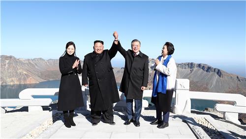 [사진동행] 평양에서 백두산까지의 평화 여정