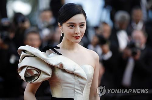 '이중계약 논란' 판빙빙, 中법원 초상권소송서 승리