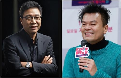 2천억대 연예인 주식부호 2명 탄생…이수만·박진영