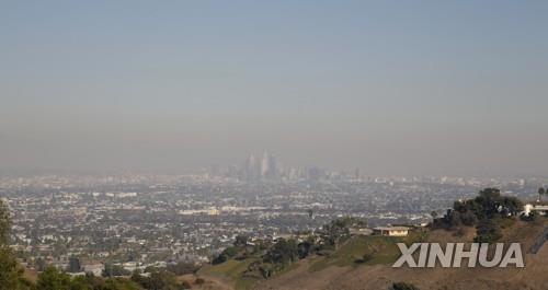 미 캘리포니아 쾌청한 날씨 옛말…20년만에 87일 연속 '스모그'