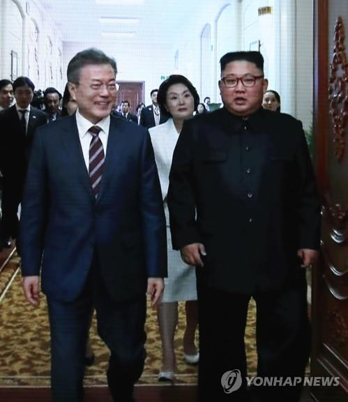 남북정상회담 영상 비속어 삽입 논란