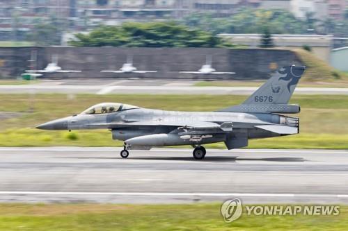미국, 대만에 F-16 예비부품 판매 승인…중국 강력 반발(종합2보)