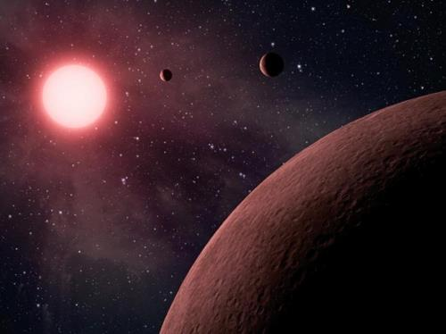 외계행성 가상도