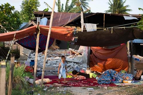 인도네시아 강진·해일 피해 지역